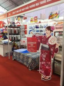 Chăn ga gối NANARA LIFE tham gia hội chợ triển lãm quốc tế Vietbuild 2018